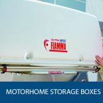 Rear Storage Box for Motorhome