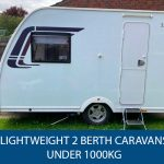 Lightweight 2 Berth Caravans Under 1000kg